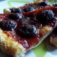 Listový jahodový koláč recept