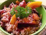 Rýžový salát s podzimní pečenou zeleninou recept