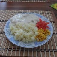 Kuřecí nudličky se sýrovou omáčkou recept