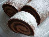Kakaová roláda bez mouky recept