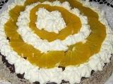 Čokoládovo-pomerančový dort recept