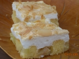Rebarborový koláč se sněhovou čepicí recept
