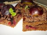 Medovo-perníkové kostky s dýní a švestkou recept