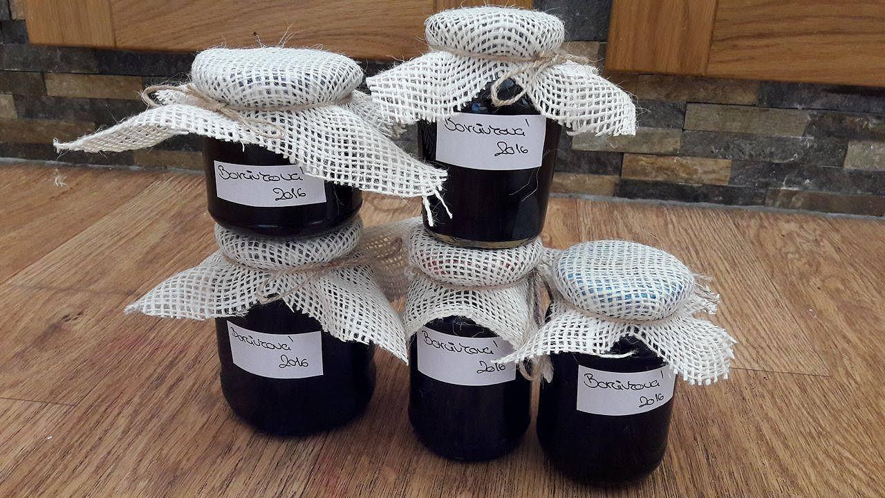 Borůvková marmeláda s chia recept