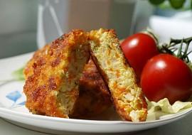Květákovo  sýrové placky s petrželkou a muškátovou vůní recept ...
