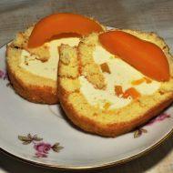 Piškotová roláda s máslovým krémem recept