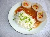 Krůtí roláda s rýží recept