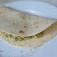 Tortilla plněná avokádem recept