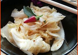 Kimchi  korejský fermentovaný salát recept