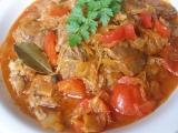 Maďarský krůtí perkelt se zelím recept