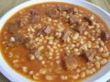 Fazolový guláš s hovězím masem recept
