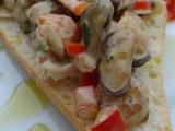 Mořský koktejl na ciabattě recept
