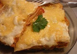 Lilkovo  houbové lasagne recept