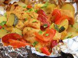 Kuřecí směs z alobalu recept
