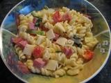 Těstovinový salát recept