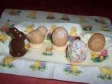 Velikonoční vajíčka, kuřátka a zajíčci recept