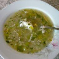 Rychlá pórková polévka s pohankou recept