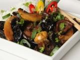 Pikantní houby po asijsku recept