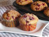 Kořeněné muffiny s brusinkami recept