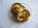 Barevná roláda s olé krémem recept