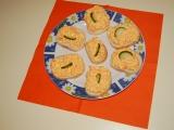 Mrkvové chlebíčky recept