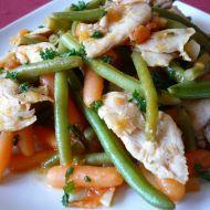 Rychlá zeleninová směs s kuřetem recept
