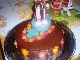 Potahovaný dort krteček recept