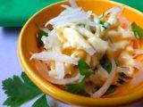 Salát z bílé ředkve se smetanovou zálivkou recept