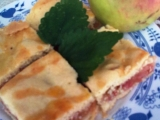 Jablkové řezy od Ivety recept