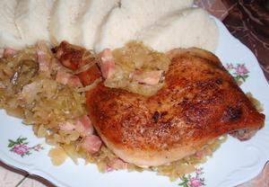 Kuře (nejen) na zelí