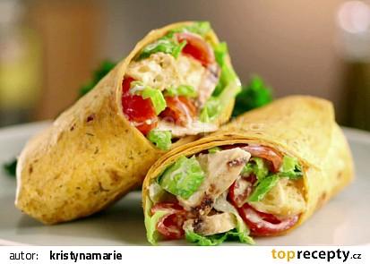 Zeleninový wrap recept