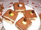 Mramorový moučník s tvarohem a čokoládou recept