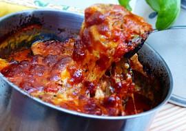 Zapečený grilovaný lilek se sýry a omáčkou z rajčat recept ...