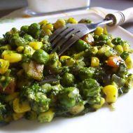 Dušená zelenina se špenátem recept