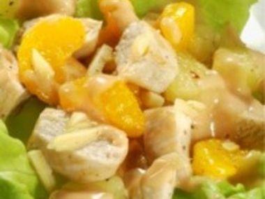 Kuřecí a celerový salát