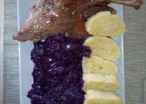 Slezská kachna recept