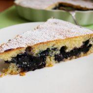 Šlehačkový koláč s borůvkami recept