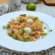 Rýžový salát s cuketou, rajčaty a mozzarellou recept