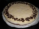 Hruškový cheesecake s čokoládou recept