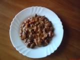 Mexické fazole s uzeným recept