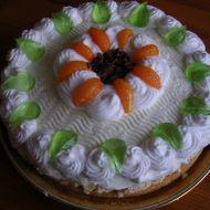 Třepací mandarinkový dort recept