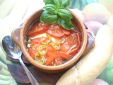Pečená feta po Řecku recept