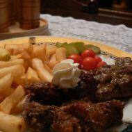 Divoký kančí steak recept