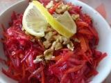 Salát ze syrové červené řepy recept