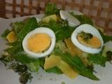 Pampeliškový bramborový salát recept