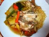 Poulet au pot (Kuře v hrnci) recept