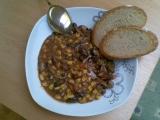 Chilli con Carne z drůbežích jater recept