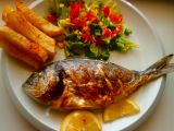Pražma královská a celerové hranolky recept