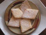 Linecké sušenky s kokosem recept
