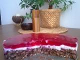 Vločkovo-brusinkový dort recept